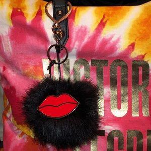 Victoria's Secret Pom Pom Keychain